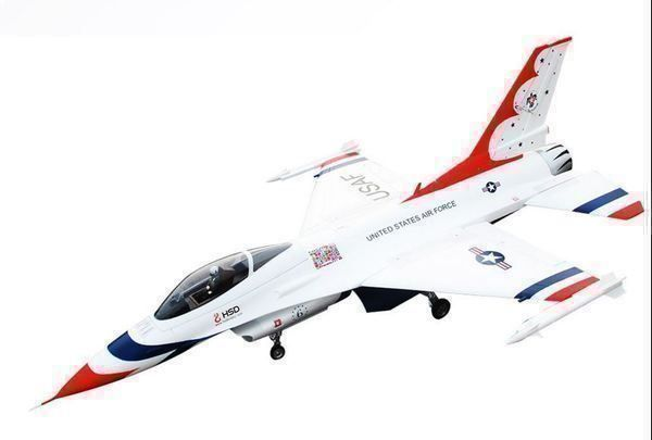 Falcon F-16 Thunderbird V2, 1245mm, HSD