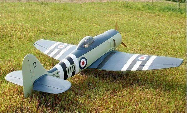 Hawker Sea Fury, 60ccm, 2110mm, CYModel