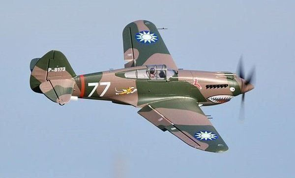 P-40B Flying Tiger, Spw 980mm,  FMS