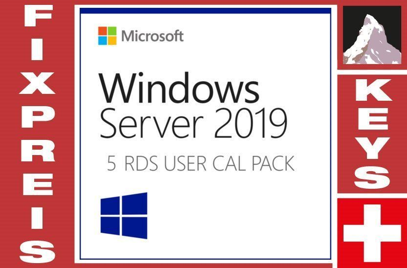 Windows Server 2019 Zugriff-RDS 5 CAL