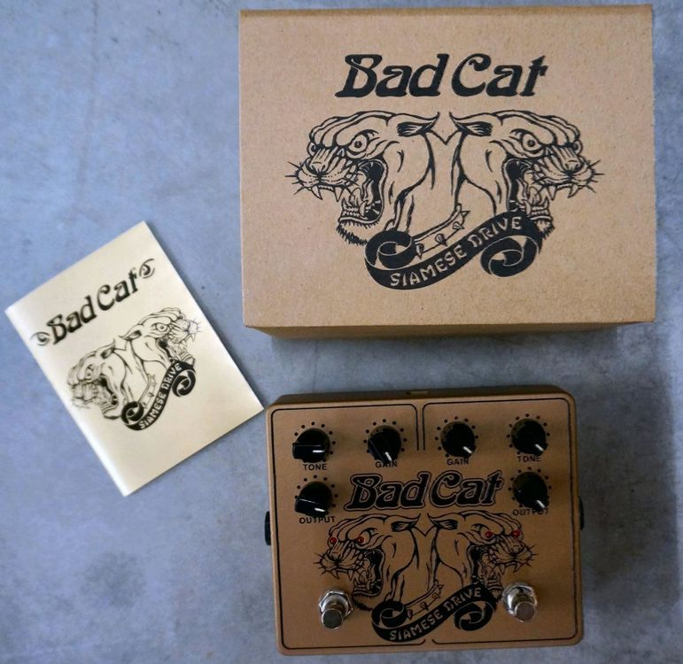 Bad Cat Siamese Drive Overdrive FX Pedal