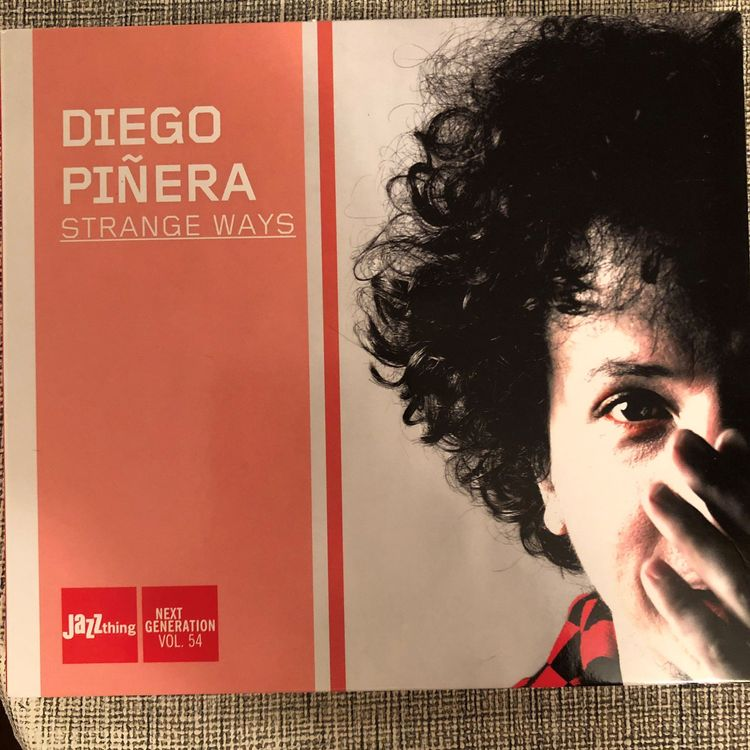 Diego Piñera • Strange Ways • CD Jazz