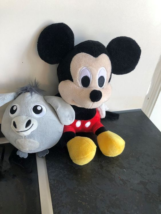 Mickey Mouse Plüschtiere