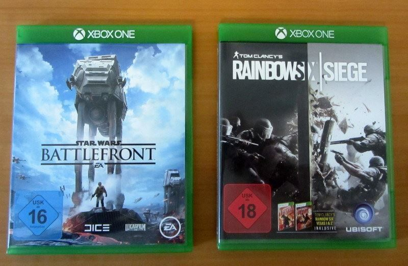 Rainbows Six  & Star Wars Battlefront
