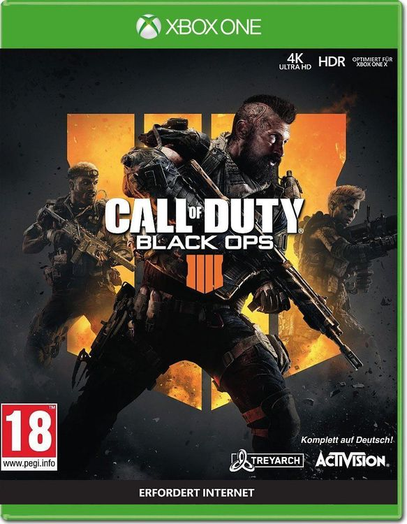 Call of Duty: Black Ops 4 Unverpackt