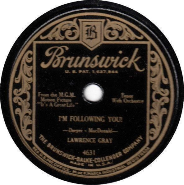 "Lawrence Gray (Shellac, 10"")"