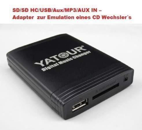 USB SD MP3 Adapter AUDI 8-Pin SEAT VW A4