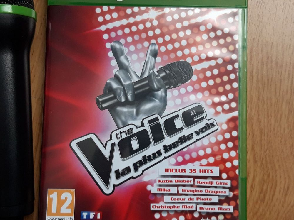 THE VOICE + 2 MICROS XBOX ONE