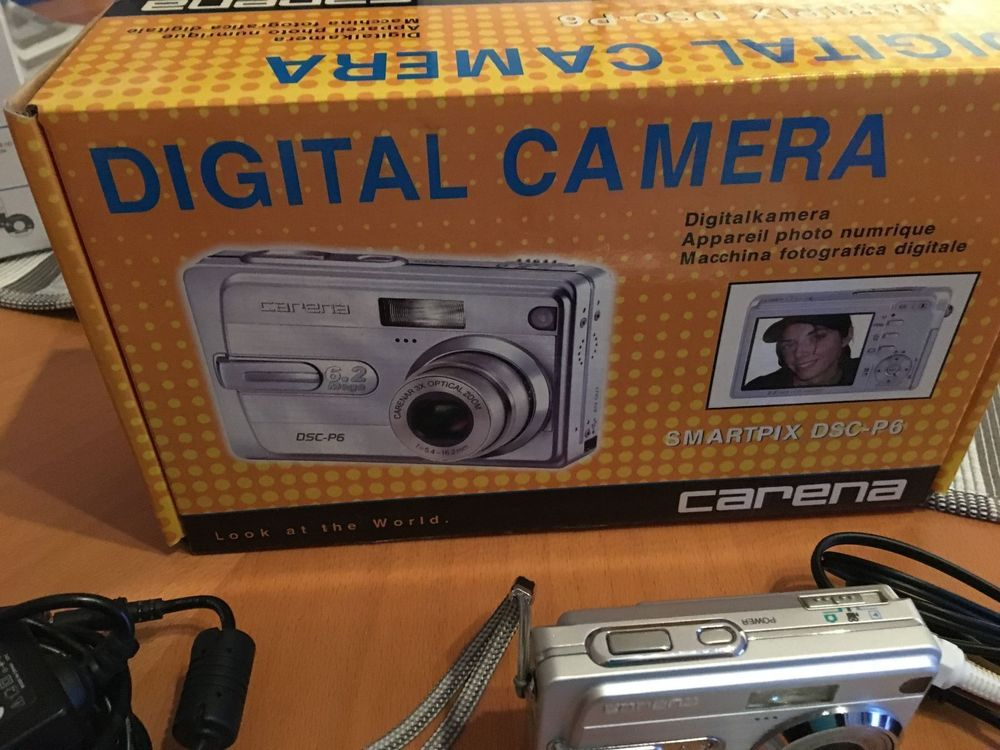Digital Camera Carena SMartpix DSC-P6