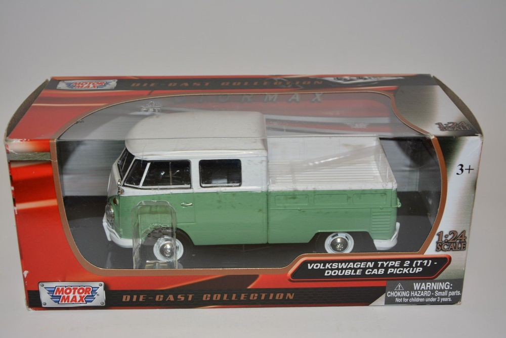VW Bus Type 2 T1 Double Cab Pickup ,1:24