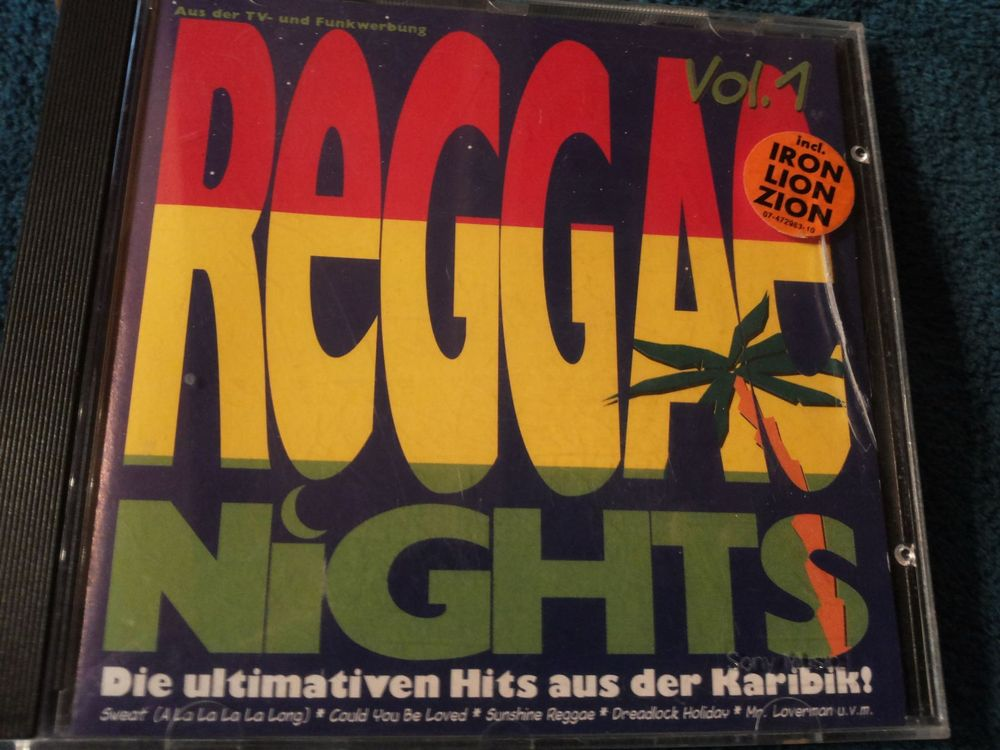 CD Reggae Nights - Vol. 1