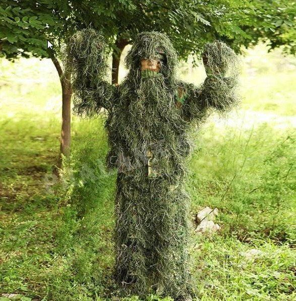 Camouflage chasse costume adult3D