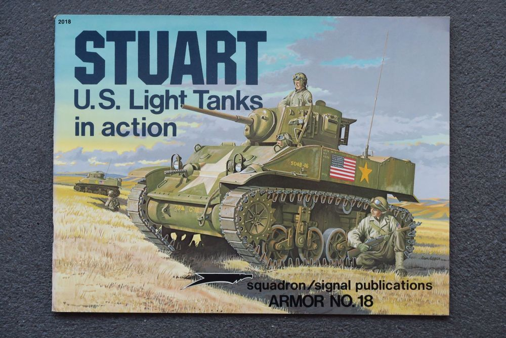 Buch Stuart U.S. Light Tanks in action