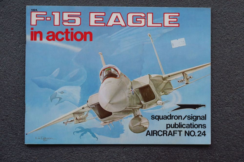 """Buch """"F-15 Eagle in action"""""""