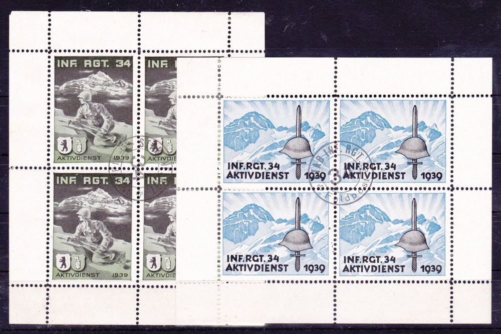 INF RGT 34, Wit 314+315/3,