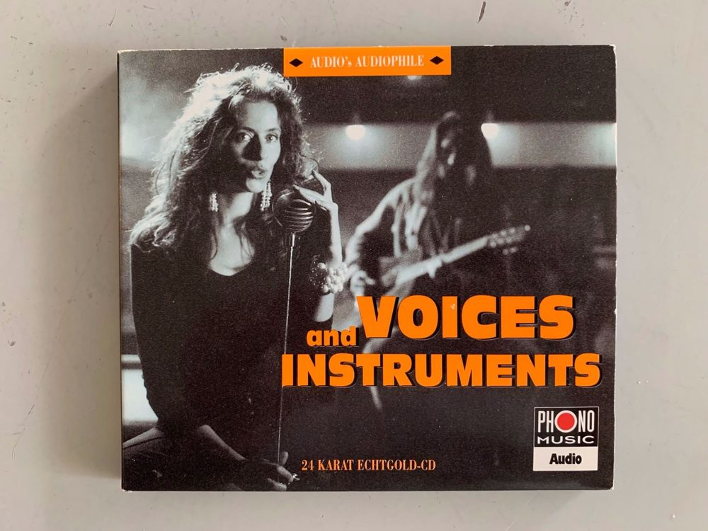 Voices And Instruments  24 Karat Gold CD