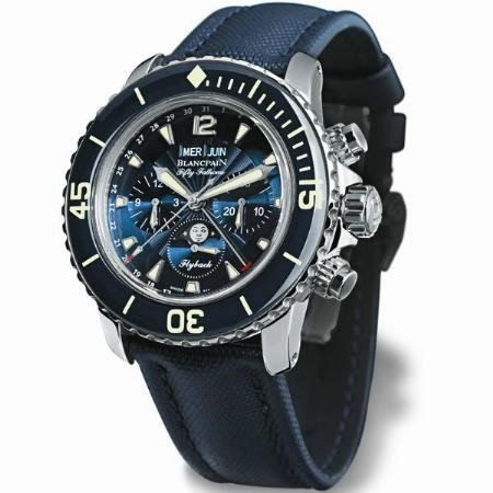 Neue BLANCPAIN Fifty Fathoms Flyback