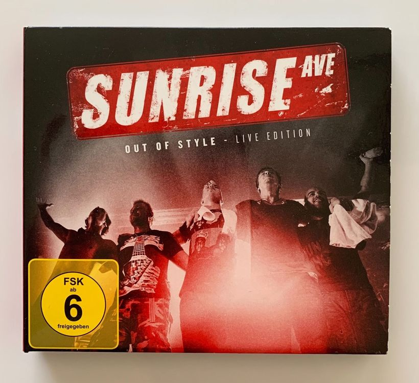 Sunrise Avenue Out of Style Live Edition