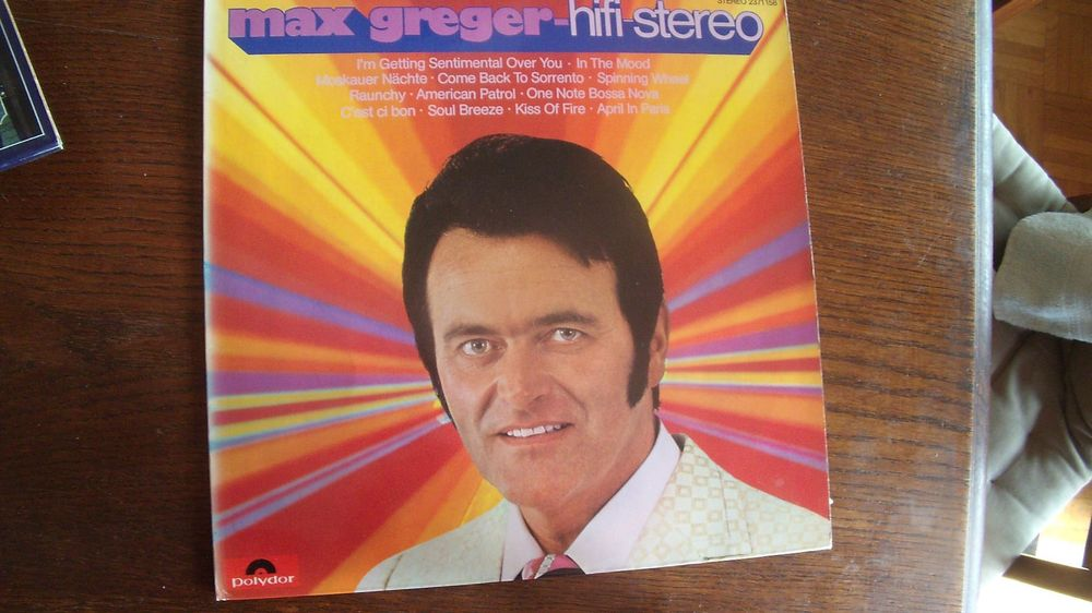 Max Greger,