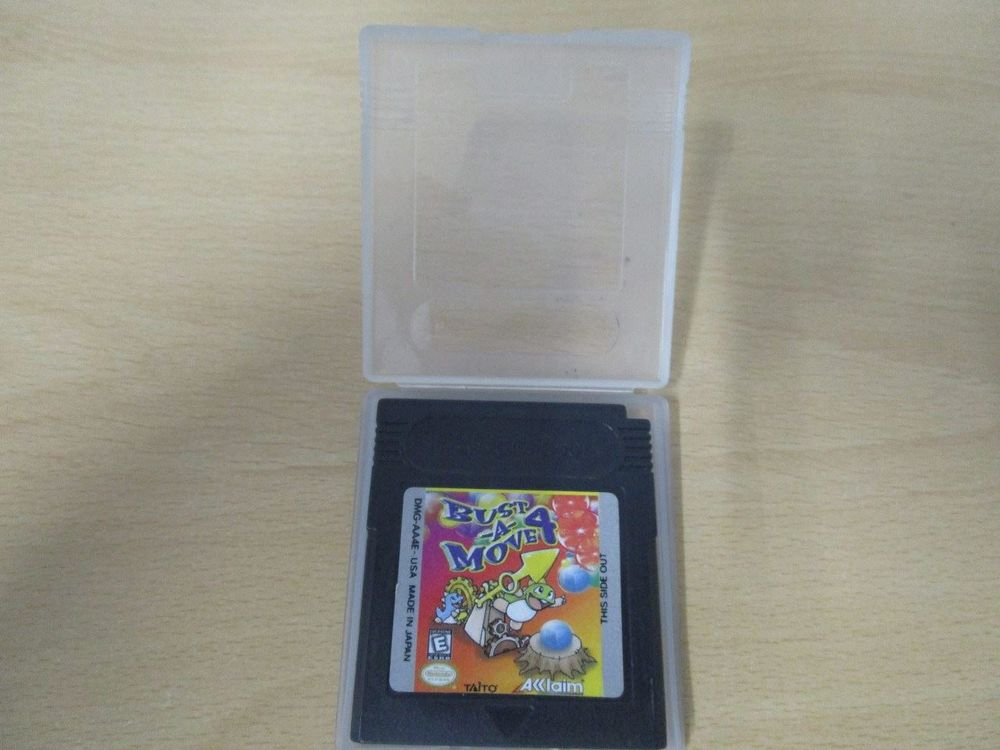 Bust a Move 4 Game Boy Color GBC