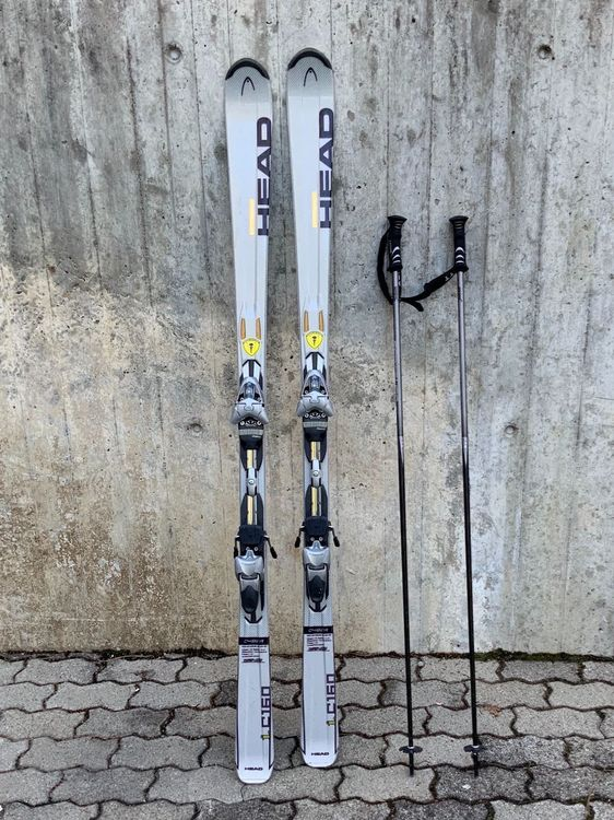 Head CYBER iC160 Carving Skis (170cm)