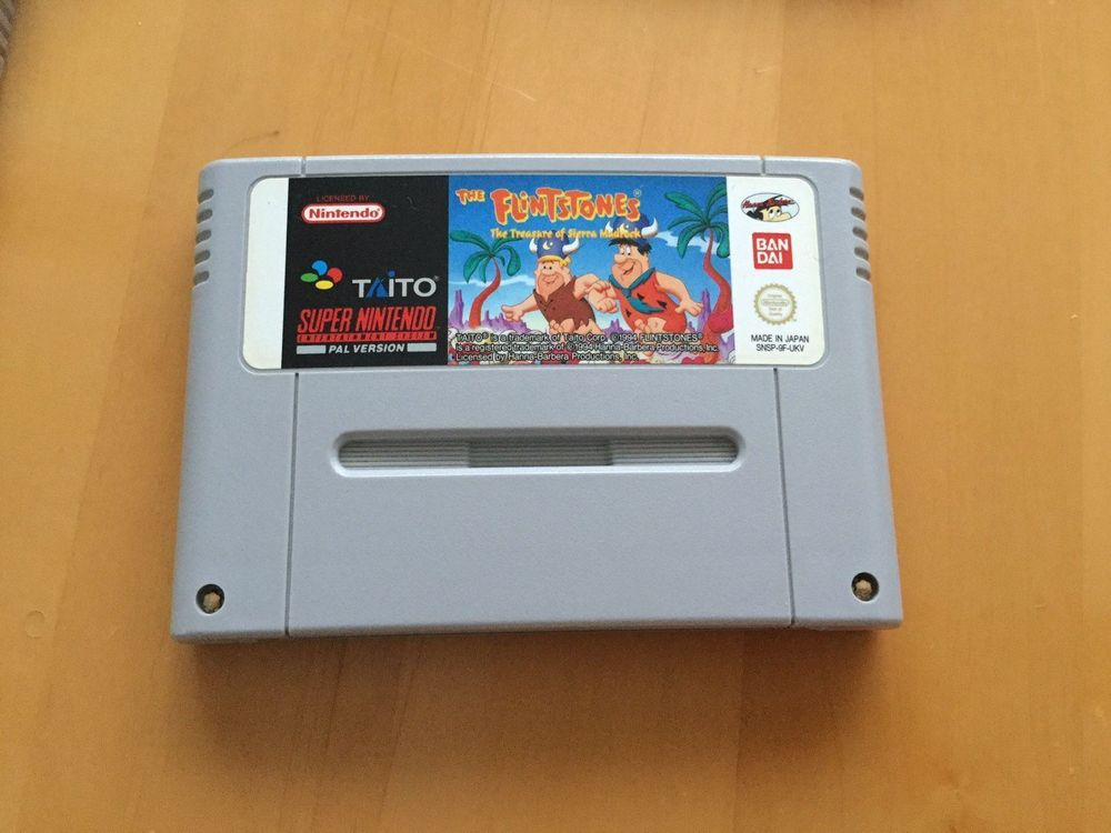 The Flintstones SNES