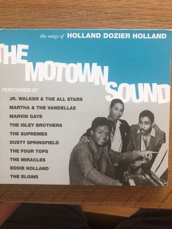 The Motown Sound • CD Compilation