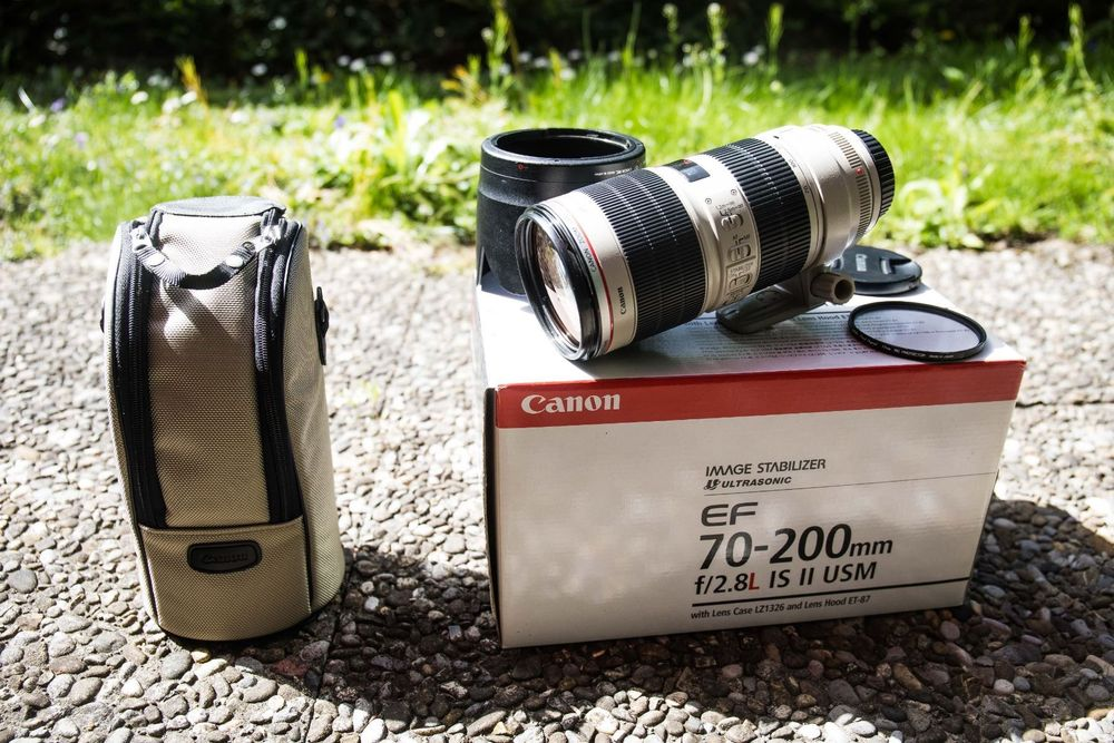 Canon 70-200 f2.8 IS II USM ab 1.-