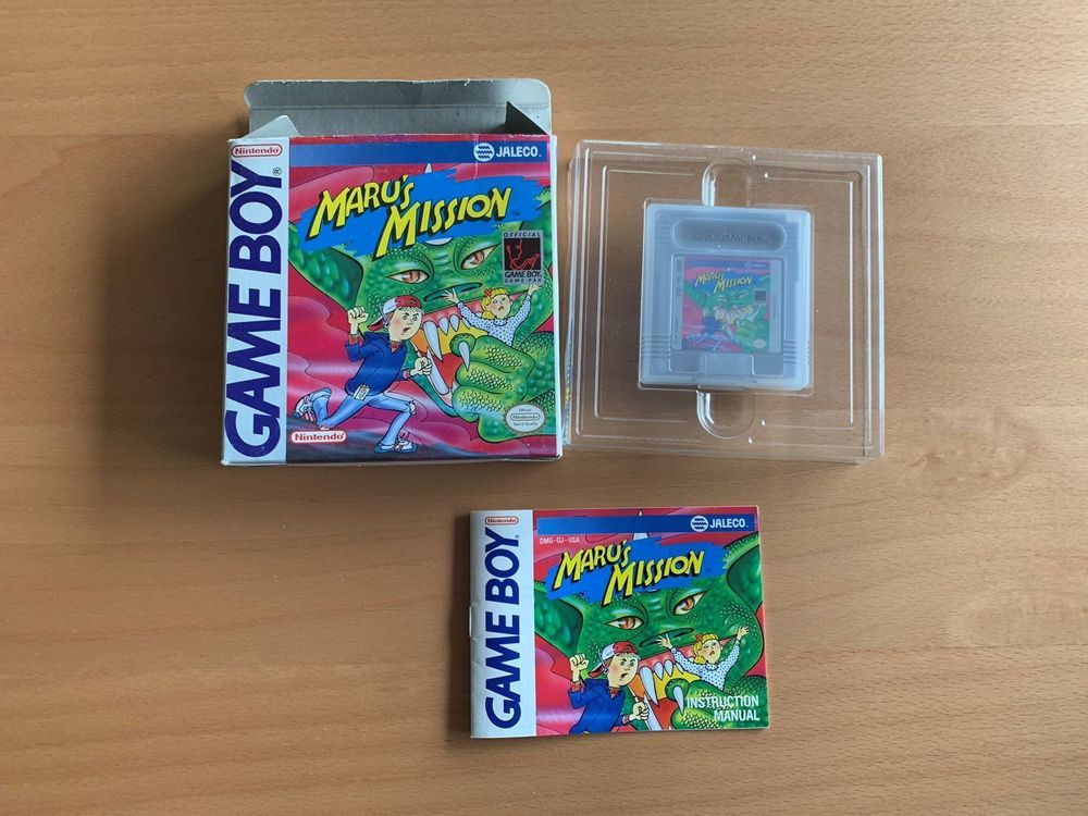 Nintendo Game Boy - Marus Mission