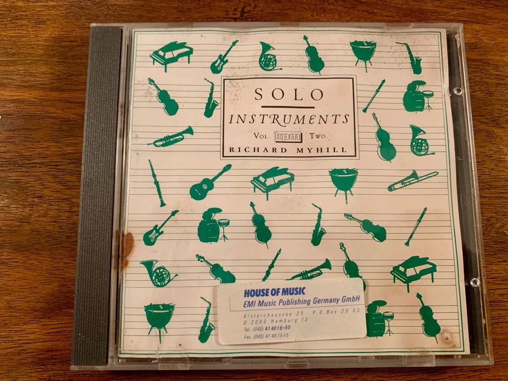 Solo Instruments Vol. 2 - R. Myhill