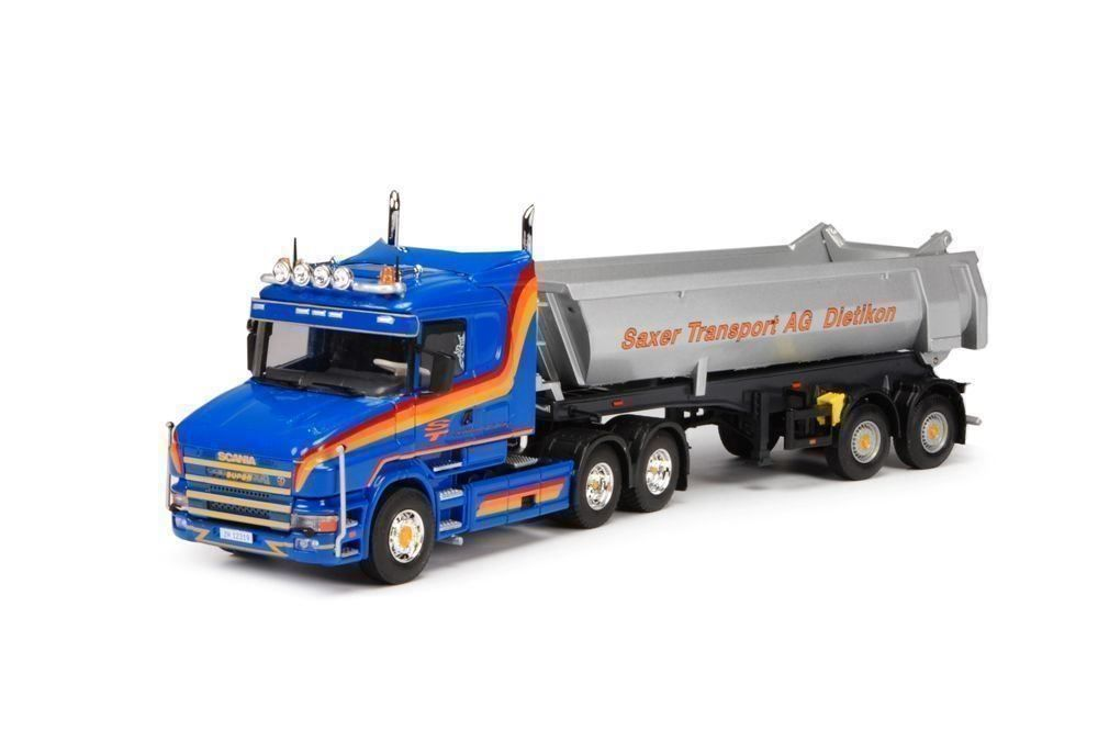 "1:50 Tekno Scania T "" Saxer Transport"""