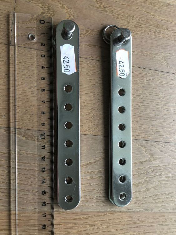 New 2x ridoirs voilier HS Germany NP85.-