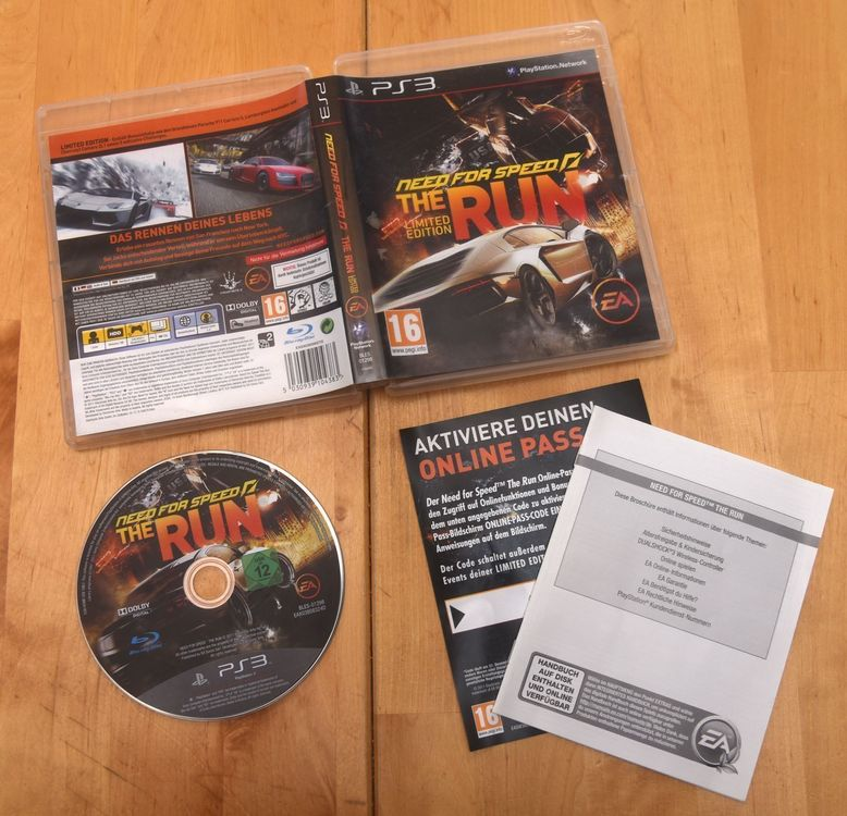 Need for Speed The Run (CIB) PS3