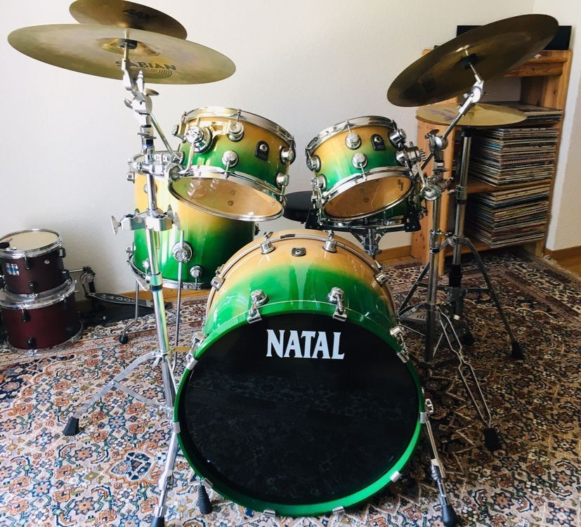 Natal drums birch fusion