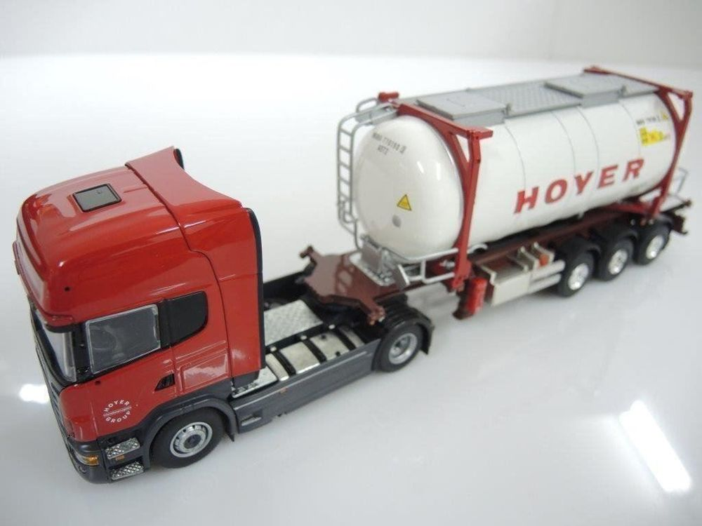 1:50 TEKNO Scania mit Hoyer Swap-Tank