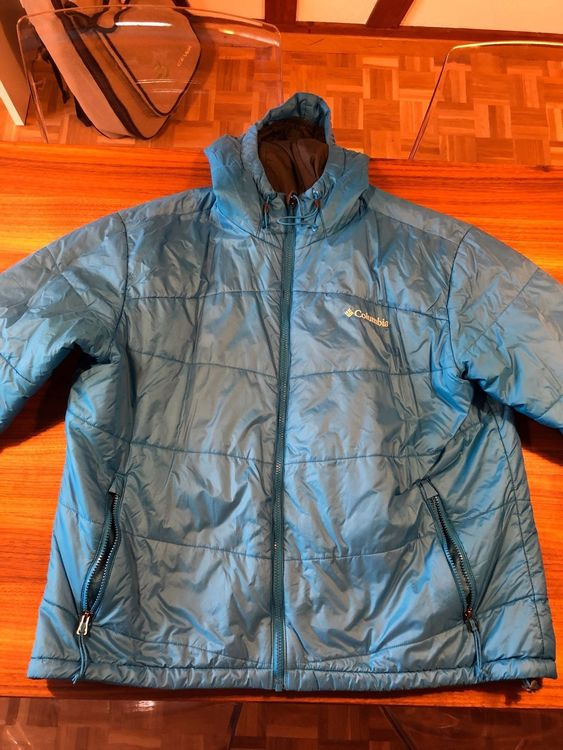 Columbia Herrenjacke Grösse XL in blau
