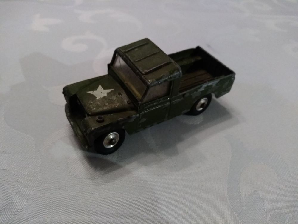 Military Land Rover  Corci Toys