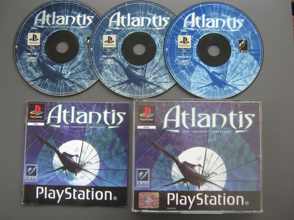 PLAYSTATION 1 | ATLANTIS