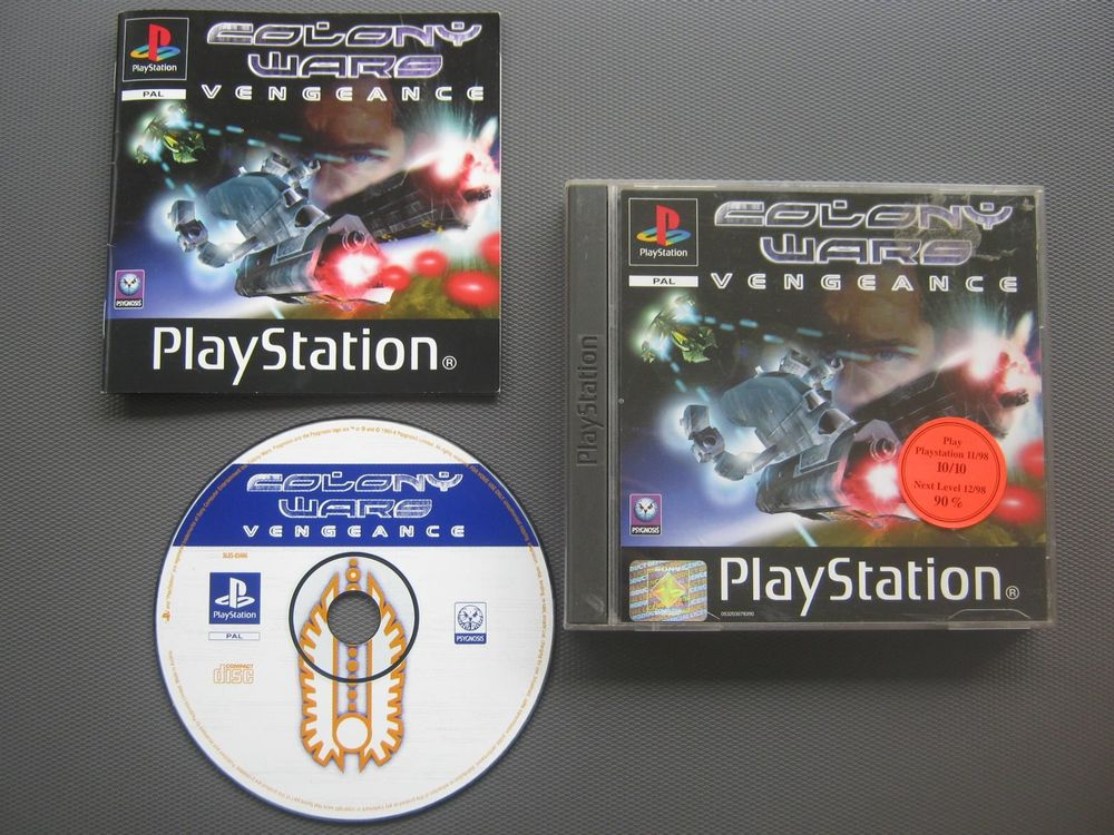 PLAYSTATION 1 | COLONY WARS VENGEANCE