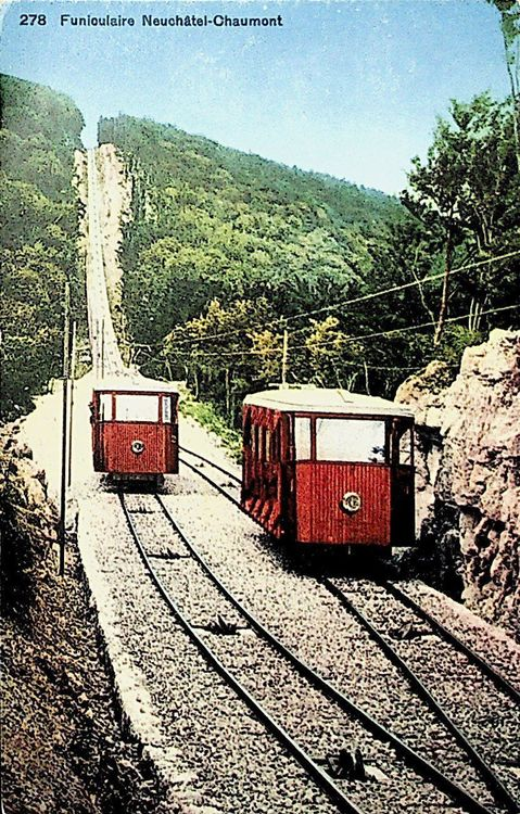 CP Neuchâtel funiculaire Chaumont   C471