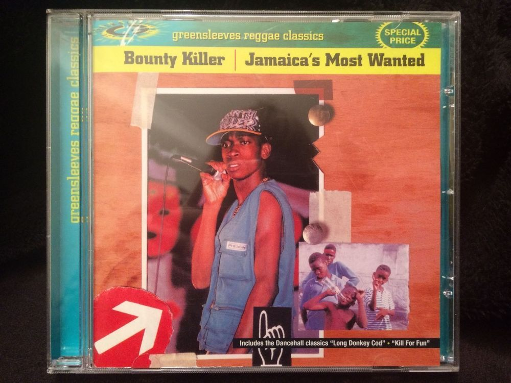 CD Bounty Killer - Jamaica`s Most Wanted