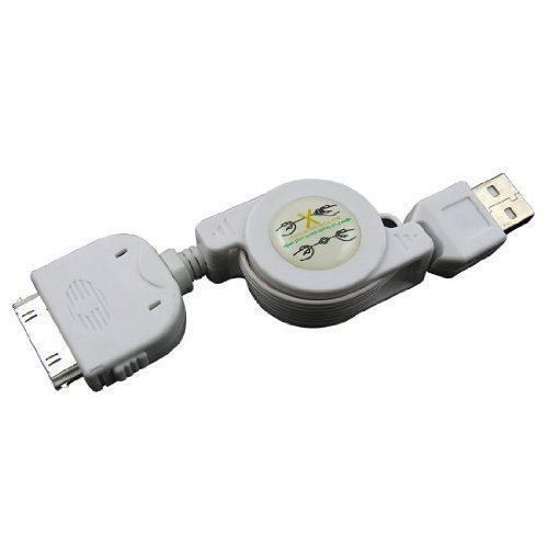 Weiss 84cm kabel  iphone 4 4g 4s USB
