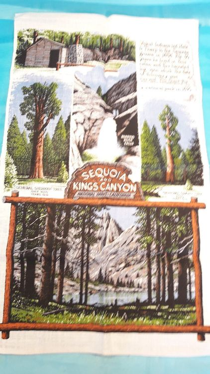 Küchentuch Sequoia and Kings Canyon