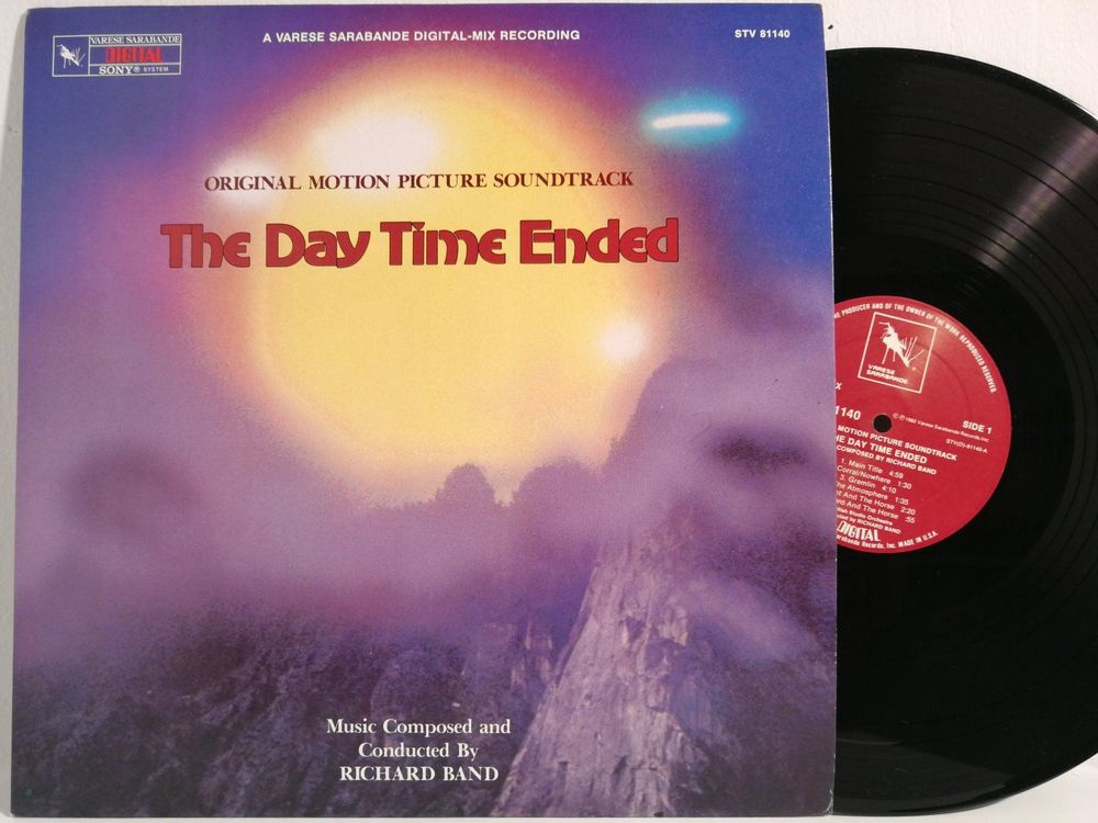 The Day Time Ended  / Richard Band / OST