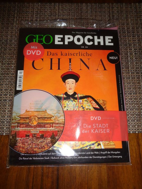 Geo Epoche-das Kaiserliche China