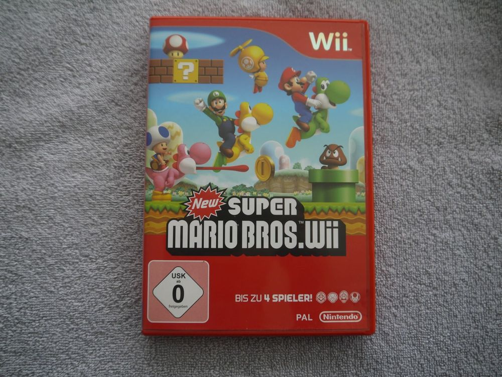 New.SUPER MARIO BROS.Wii