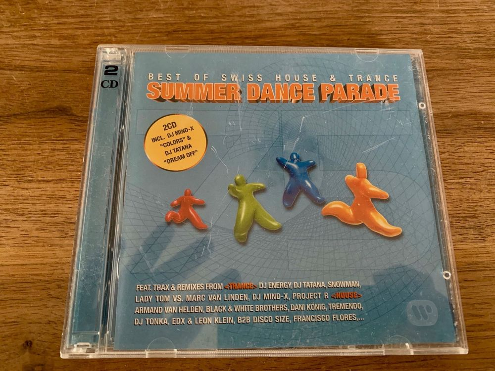 Summer Dance Parade, Doppel-CD