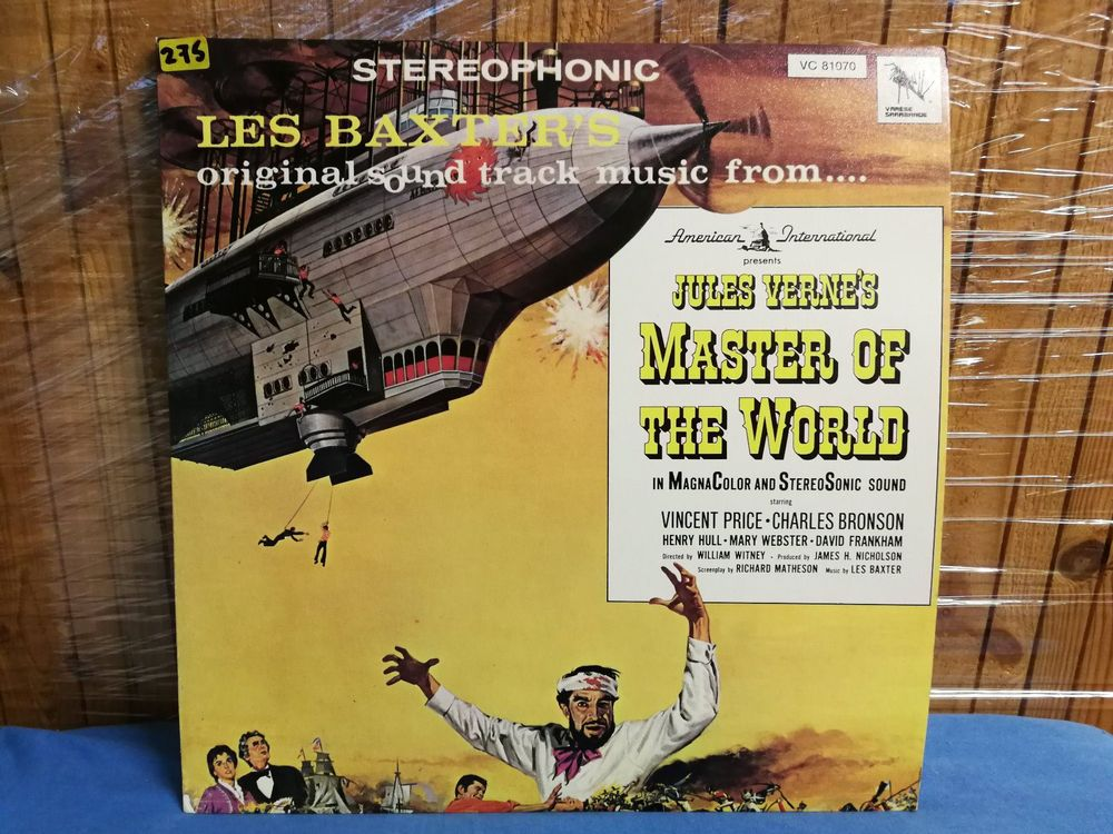 Master of the World  LP Soundtrack