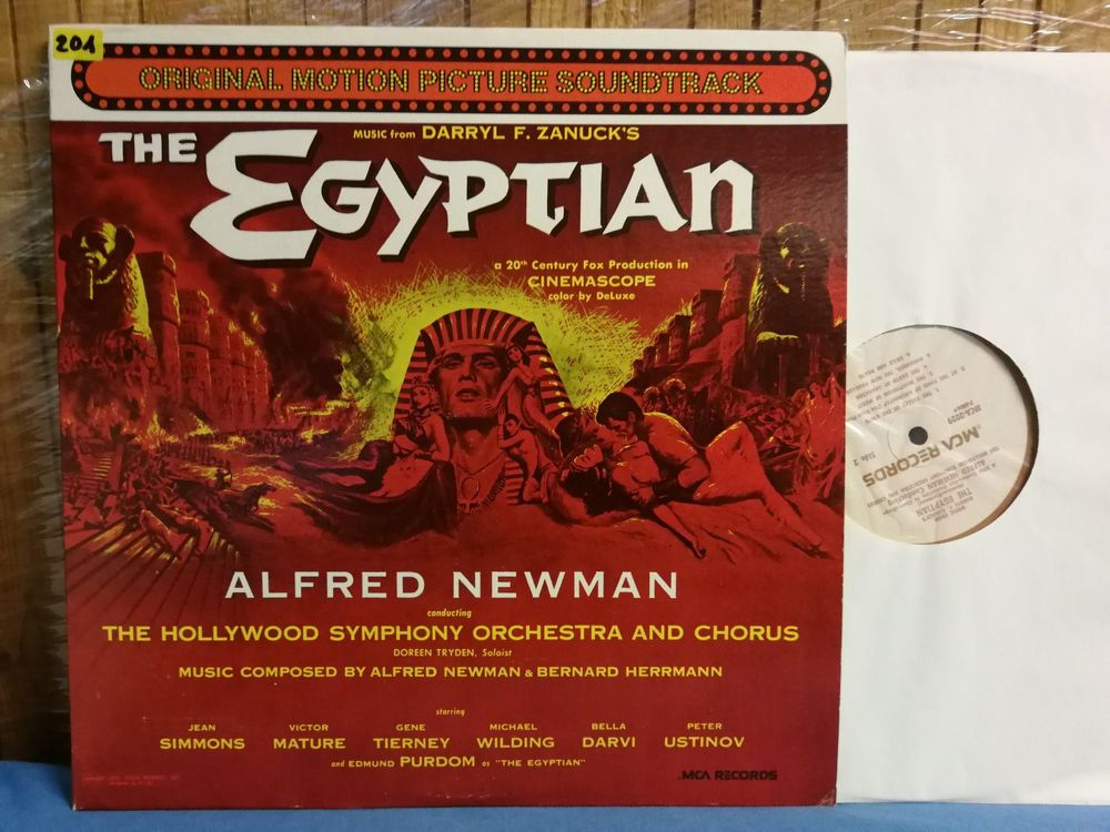 The Egyptian lp  soundtrack