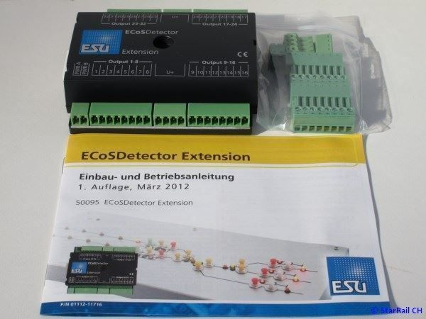 ESU 50095 ecosdetector Extension 50095 ++